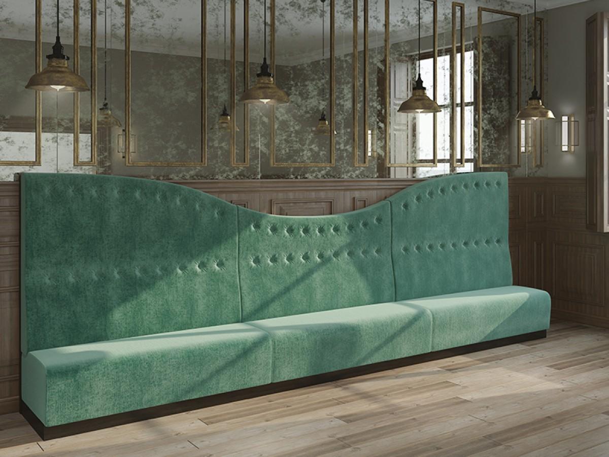 Wonderlijk Restaurant zitbanken | P&M Furniture VU-87