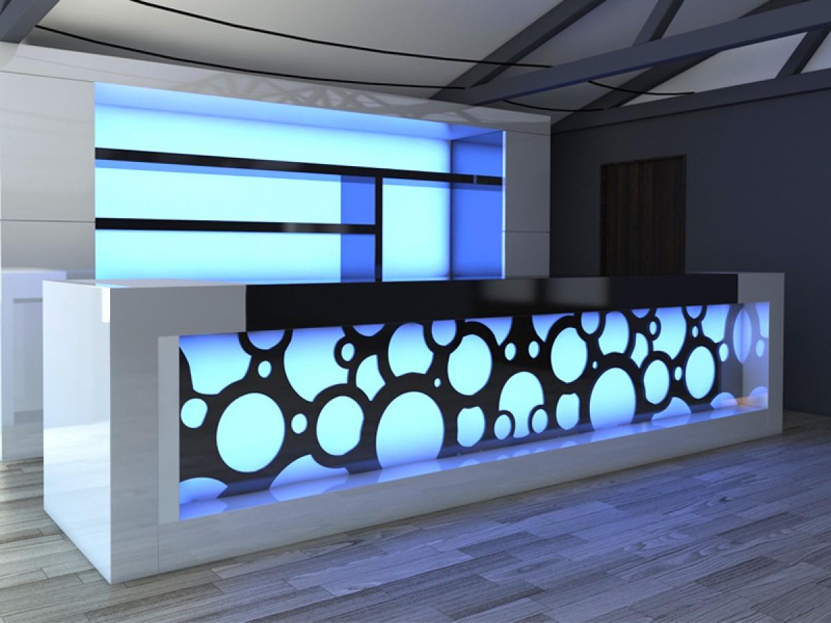 12 led lights bar diverse p m furniture horeca. Black Bedroom Furniture Sets. Home Design Ideas