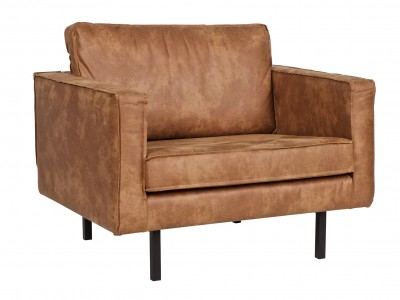 West armchair leather