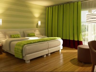 KEDI Hotels - 3D render