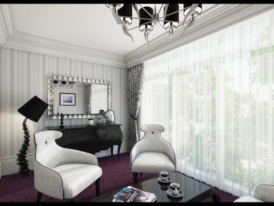 Europa Hotel - 3D render