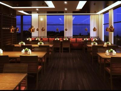 Primecut Steakhouse - 3D render