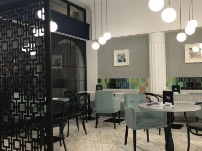 Prisi Cafe, design Bezem- Piatra Neamt, ROEMENIË