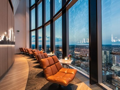 Main Tower Restaurant & Lounge - Frankfurt, Duitsland